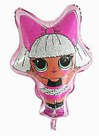 """Фольгированный шар """"Кукла Лол"""" 70х50 см"""