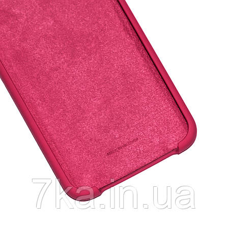 Силиконовый чехол на Xiaomi Redmi Note 6 Pro Soft-touch Bordo, фото 2