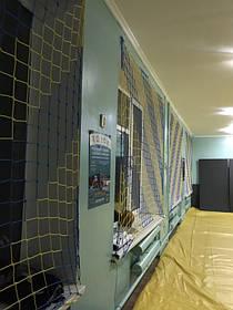 Заградительная сетка для спортивного зала в школе г.Южный 2