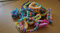 Rainbow loom - плетение из резинок