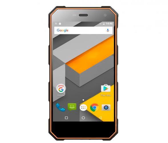 Смартфон Sigma mobile Х-treme PQ24 Black-Orange