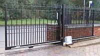 Откатные ворота на опорном ролике (2600-3000)