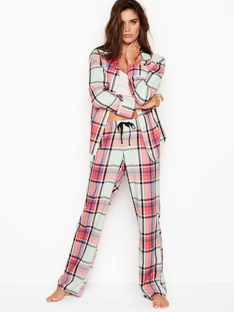 Пижама  Victoria's Secret в розовую клетку