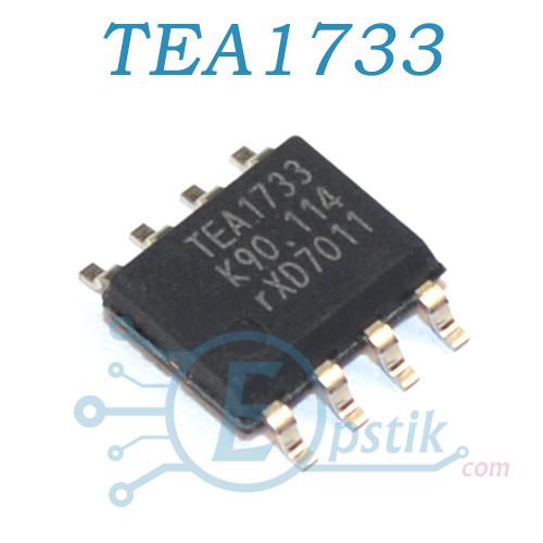 TEA1733, SMPS контроллер питания, SOP8