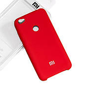 Силиконовый чехол на Xiaomi Redmi Note 5A Soft-touch Red