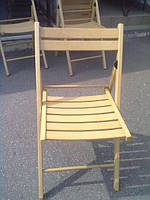 Стул складной ( раскладной ) деревяннй Материал: натуральное дерево бук