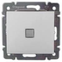 Выключатель с подсветкой проходной Legrand Valena одноклавишный 774426 белый