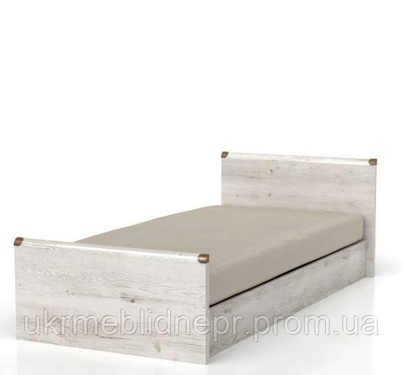 Кровать JLOZ90 (каркас) Индиана, БРВ