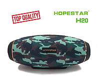 Отличная портативная Bluetooth колонка Hopestar H20 31 Вт (хаки, камуфляж)