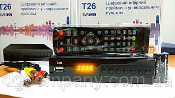 Тюнер Т2 Golden Stream Т26 з пультом програмируемым