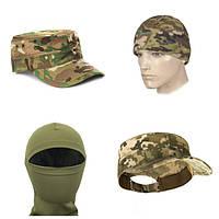Детские камуфляжные головные уборы