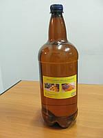Льняное масло 1.5 л бутылка с воском для пропитки дерева, фото 1