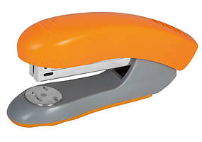 Степлер №24 / 6, 26/6 Economix, до 30 л., Пласт. корпус, оранжевый