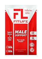Стимулятор тестостерона FitLife Male Support 20 таблеток