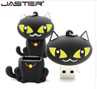 Флешка подарочная 16 Гб Черный кот