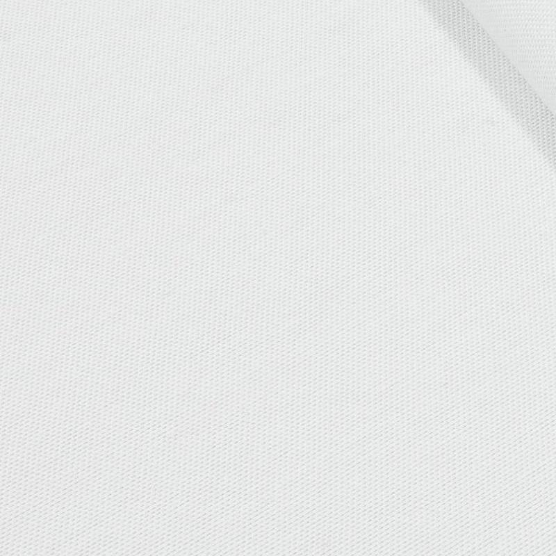 Декоративная ткань однотонная Арена Белый