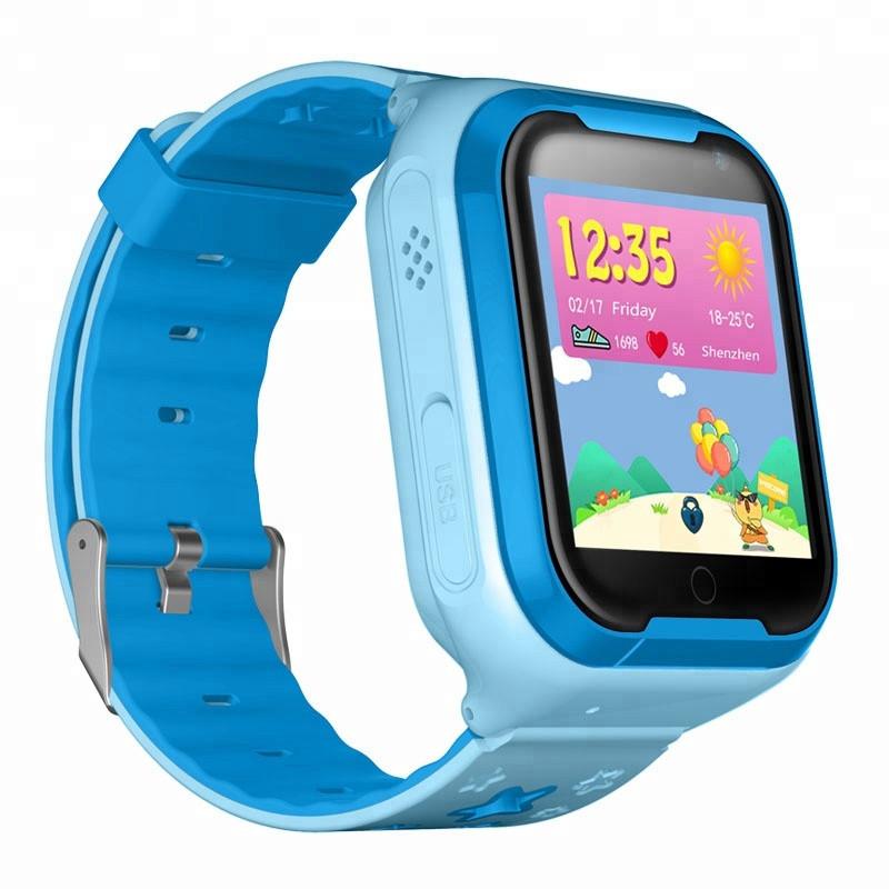 3ef7b63f1ea1a Детские умные часы Smart Baby Watch Q403 Blue с поддержкой 4G и водеозвонков