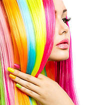 4 Способа Как Сделать Цветные Пряди в Волосах?