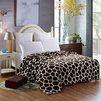 Летнее броское одеяло с узором жирафских полос в стиле Европы-жираф 1TopShop