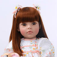 Кукла реборн 65 см девочка Ариадна