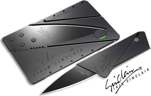 Нож визитка CardSharp, прочная сталь, уникальный дизайн, фото 2