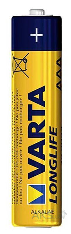 Элемент питания Varta AAA (LR03) LongLife 1шт