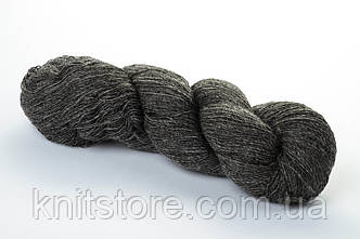 Пряжа Aade Long Kauni Natural Yarn 8/1 Темно-серый