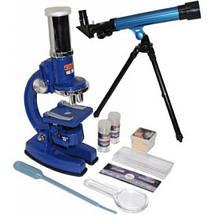 Детский Микроскоп и телескоп, подарок юным астрономам и докторам , фото 2