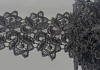 Кружево черное 5.2см/10 ярд арт.TJ-11806