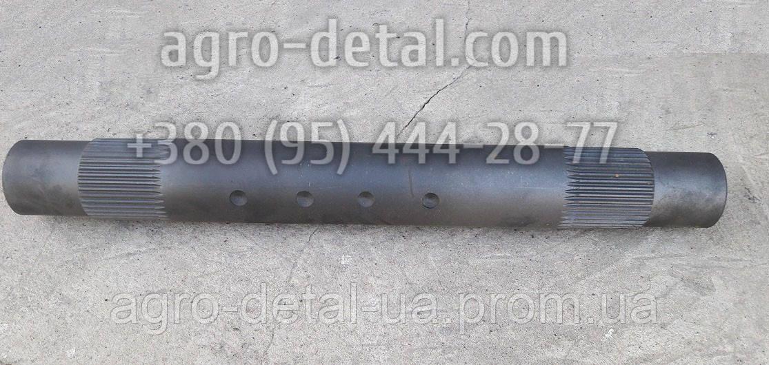 Вал рычагов 151К.56.018 шлицевой под два гидро цилиндра навески трактора Т 151 К,Т 17021,Т 17221