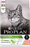 ProPlan Cat Sterilised для стерилизованных кошек с лососем, 10 кг