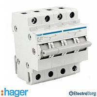 Переключатель ввода резерва 2 полюса 63A 250W 1+N SF263 Hager