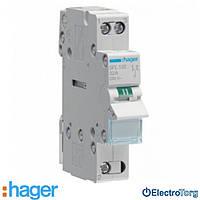 Переключатель I-II 1 полюс 32А 230W с общим выводом снизу SFL132 Hager