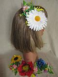 Заколка на голову, заколка з соняхом,заколка для волосся (45/55) (цена за 1шт. +10 грн), фото 2