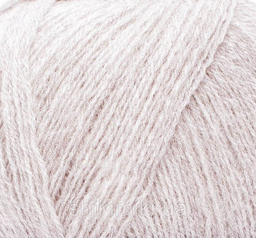 Пряжа Himalaya Lana Lux 800, цвет Светло-серый