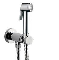 Итальянский гигиенический душ скрытого монтажа Bossini Paloma Flat Mixer Set