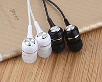 Наушники с микрофоном S9 / Гаринитура (затычки) для телефонов планшетов и др.