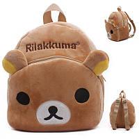 Детский плюшевый рюкзак Мишка Rillakuma