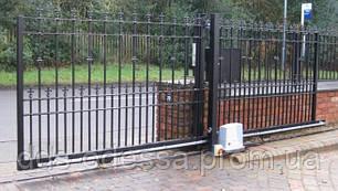 Откатные ворота на опорном ролике (4200-5000)