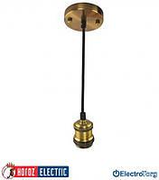 """Светильник подвесной """"TESLA"""" 220-240V E27 Horoz Electric (Хороз Электрик)"""