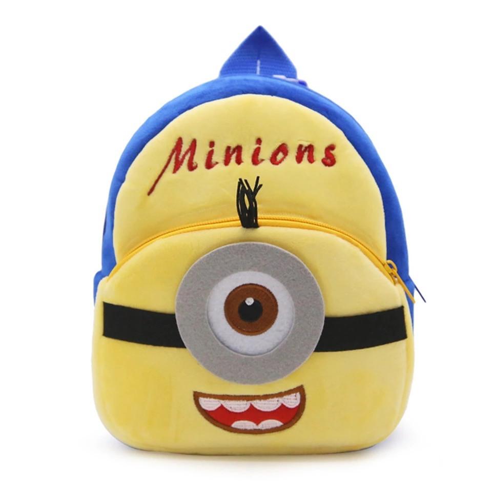 Детский плюшевый рюкзак Миньон, Minions