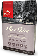 Orijen Fit & Trim корм для кошек с лишним весом, с курицей и индейкой, 5.4 кг