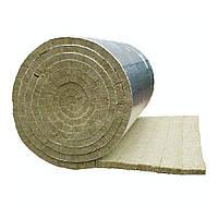 Мат ламельный 1200*8000*30мм, фольгированный Технониколь. Вата базальтовая минеральная.