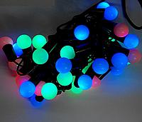 Новогодняя гирлянда LED 28 шариков (шарик 1,5 см)