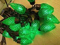 Новогодняя гирлянда LED  (шишки)