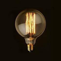 Лампа Едісона LOFT G125 куля 40W E27 VITO лофт