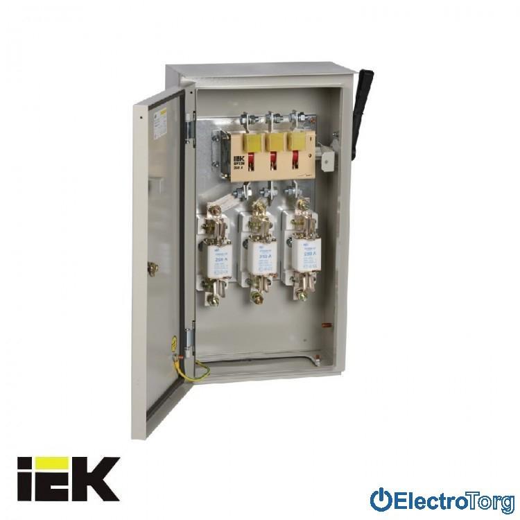 Ящик с рубильником и предохранителями ЯРП 100А 74 У1 IP54 ИЭК(IEK)