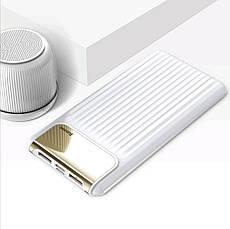 Внешний аккумулятор Power bank BASEUS 10000 mAh Quick Charge 3.0 с ЖК дисплеем White, фото 2