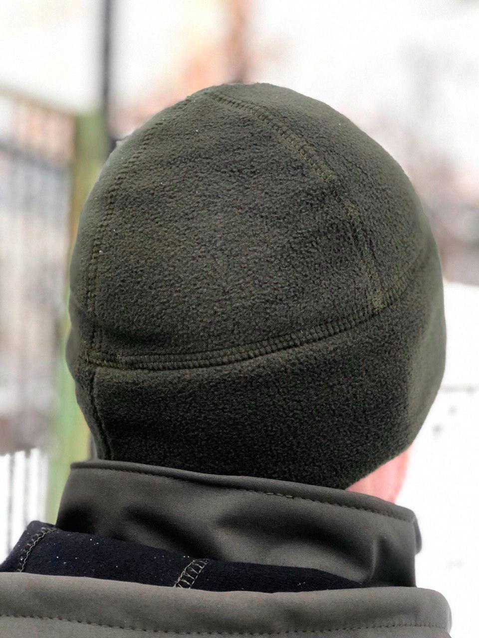 Флисовая шапка Watch Cap (олива)
