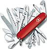 Cкладной качественный нож Victorinox SwissChamp 16795 красный